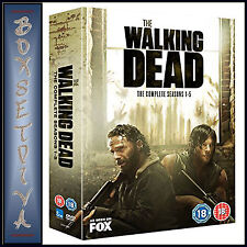 THE WALKING DEAD - COMPLETE SEASONS 1 2 3 4 & 5 *BRAND NEW DVD BOXSET *