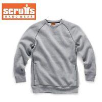 Scruffs TRADE WORK SWEATSHIRT Pullover Jumper Grey (Sizes S-XXL) Men's Jumper