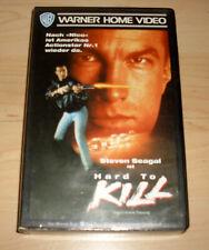 VHS Film - Hard to Kill - Steven Seagal - Action - Videokassette