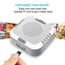 Sound Machine White Noise Generator Spa Easy Sleep Baby Rain Relaxation Therapy