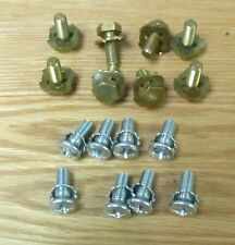 1955 1956 CHEVY EXHAUST MANIFOLD BOLT LOCK PLATES NEW  ** USA MADE **