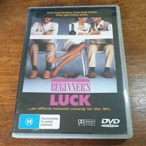 Beginner's Luck DVD (Region 1 USA CANADA) 1986