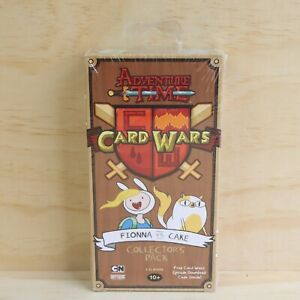 2016 Adventure Time Card Wars Fionna VS Cake Collectors Pack - New