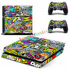 Skin Wrap Sticker For PS4 Playstation Decal Cover Accessory Sticker Cartoon