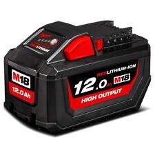 Milwaukee M18HB12 18V 12.0Ah Li-ion Cordless RED LITHIUM High Output Battery