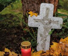 Kreuz Gießform Grabschmuck 240 x 350 mm Grab Friedhof Beton 88214 R