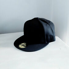 New York Yankees 59FIFTY Black on Black MLB Fitted Baseball Cap - size 7 1/4