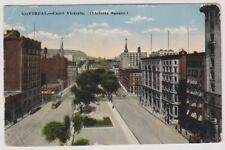 Canada postcard - Montreal, Victoria Square - P/U 1917 (A130)