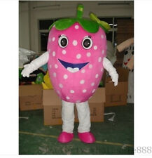 Advertising Fruits Strawberry Mascot Costume Birthday Party Fancy Dress Adult us
