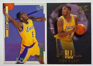 (2) Kobe Bryant 1996-97 Fleer Ultra Encore All-Rookie RC Card Lot SP LAKERS HOF