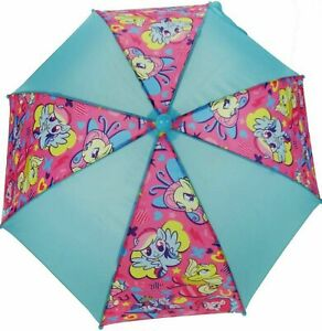 OFFICIAL MY LITTLE PONY CHARACTER  GIRLS RAIN UMBRELLA KIDS SCHOOL PANEL BROLLY