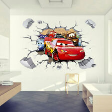 3D McQueen Cars Wall Sticker Decals for Kids Boys Nusery Room Decor
