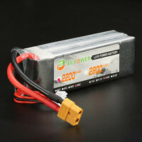 XF Power 3.7V-14.8V 550mah-2600mah 1S-4S 25C-70C Lipo Battery JST/XT60/T Plug