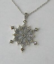 judith jack snowflake necklace