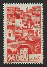 1947 Morocco - Views Of The City - Sepia 30 C Stamp (BX6)..