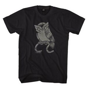 NEW OFFICIAL Cinelli Who Wants to Ride Owl Black MEDIUM Cycling Cotton T-Shirt