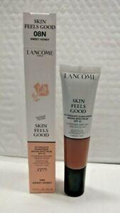 Lancome Skin Feels Good Foundation -  08N SWEET HONEY TST BOX 1.08 oz