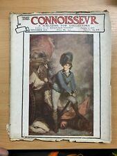 """NOV 1919 """"THE CONNOISSEUR MAGAZINE"""" ANTIQUES & ART COLLECTORS MAGAZINE (P3)"""