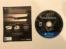 "dishonored <ne translation=""$num"" entity=""2"">$num</ne> game disc and dlc (<ne translation=""$prodspec"" entity=""ps4"">$prodspec</ne>, <ne translation=""$num"" entity=""2016"">$num</ne>)"