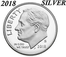 2018 S Silver PROOF ROOSEVELT DIME GEM DEEP CAMEO coin