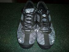 PUMA Men's Running Shoe Black/Grey White Size 11 New (Other)