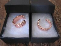 PURE COPPER MAGNETIC RING WOMEN MEN ARTHRITIS ADJUSTABLE with GIFT BOX NEW