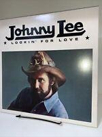 Johnny Lee Lookin For Love Asylum Lp 33 Rpm Vinyl Record #2118