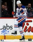 Matt Fraser Edmonton Oilers Signed Autographed 1st Oilers Goal Celebration 8x10