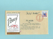 WWII FDC Hawaii Pearl Harbor Attack 68th Anniversary * ALL PAU * Sc 4767