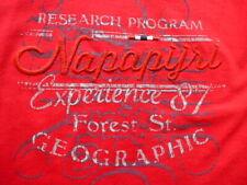 Napapijri - Damen - Shirt Langarm - Rotton mit Stickereien- Gr.M - wie Neu