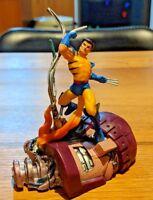 Marvel figure factory - Toy biz - wolverine no mask