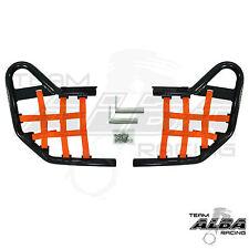 Yamaha Raptor 660 YFM660  Nerf Bars   Alba Racing  Black Orange 203 T1 BO