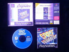 JEU Sony PLAYSTATION PS1 PS2 : SPACE INVADERS (complet, envoi suivi)