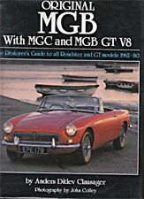 MG ORIGINAL MGB MGC GT V8 RESTORATION GUIDE CLAUSAGER BAY VIEW BOOKS EDITION