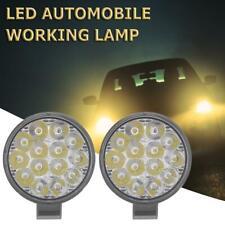 2pcs 42W Mini Round Offroad LED Work Light Bar Spot Beam Driving Fog Lamp (2pcs)