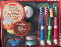 Melissa & Doug Bake & Decorate Cupcake Set **NEW**