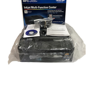Brother MFC-J430W All-In-One Inkjet Printer Open Box USB Cable Ink Bundle