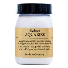 Aqua Size - Anlegemilch für Blattgold, Blattsilber, Schlagmetalle zum vergolden