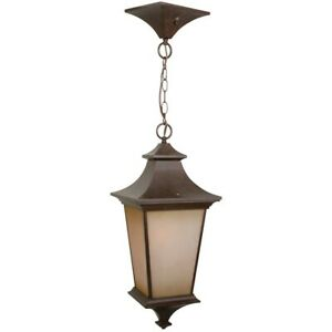 Craftmade Outdoor Argent Large Pendant, Aged Bronze Textured - Z1321-AG