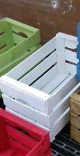 Casse Cassette della frutta in legno vintage o nuove bianche 50x30x27 da 2kg
