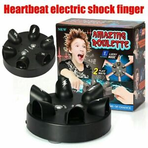 Cute Polygraph Shocking Shot Roulette Game Lie Detector Electric Shock ToyS