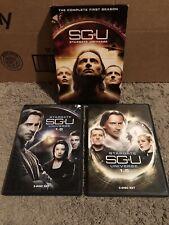 Stargate Universe 1.0 & 1.5 - The Complete First Season (DVD, 2010, 6-Disc Set)