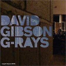 David Gibson - GRays [CD]