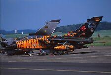 Original colour slide Tornado IDS spcl 43+96 of AkG-51 German Air Force
