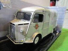 CITROËN HY type H gris 1969 MOTOBECANE 1/18 d SOLIDO 421183740 voiture miniature