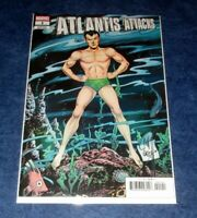 ATLANTIS ATTACKS #1 1:25 Bill Everett NAMOR variant 1st print MARVEL COMIC 2020