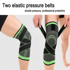 3D Weaving Knee Brace Breathable Sleeve Support for Running Jogging Sports USA