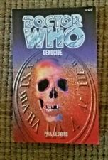 Dr. Who: 8th Dr. Adventures: Genocide By Paul Leonard (1998)