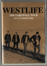 WESTLIFE - The Farewell Tour (Live At Croke Park) - 2012 DVD   *FREE UK POSTAGE*