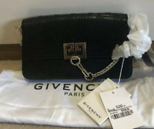 Givenchy Studded Charm Bag Black Leather New RRP £2250 Luxury Gift Genuine